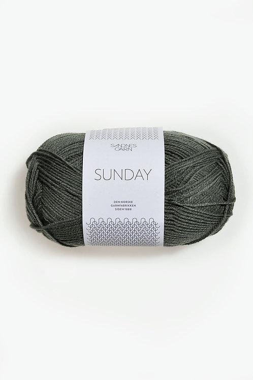 Sunday 9071 (Dovt olivgrön)