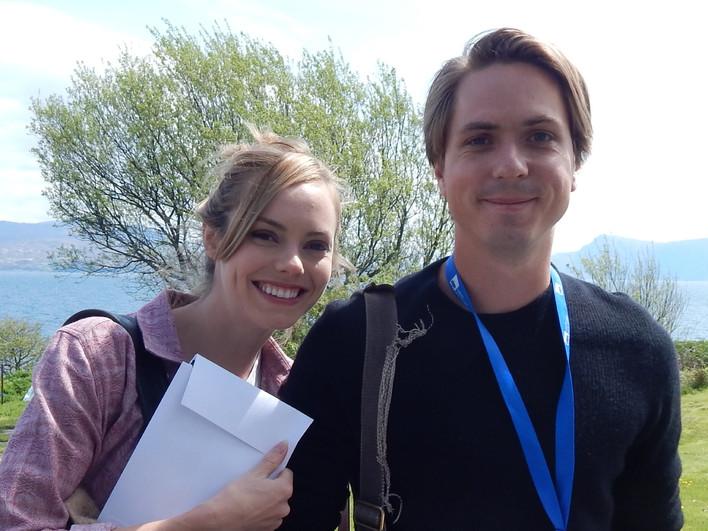 YFF 2018 - Hannah Tointon and Joe Thomas