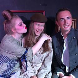Catherine, Gabby, & Sebastian