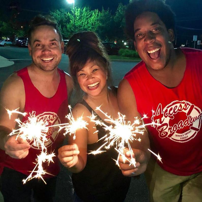 Happy Fourth of July! -Gary, Jocelyn, & Brandon