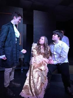 Marius, Cosette, & Valjean