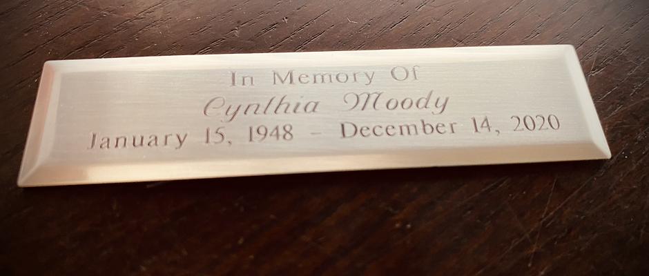 Honorary Nameplate