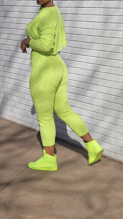 Highlighter Knit Set