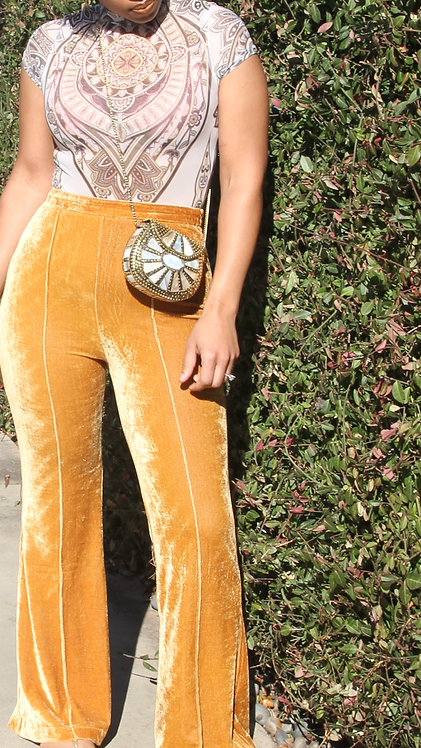 Gold Crush Pants