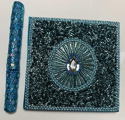 Glitz Notebook & Pen
