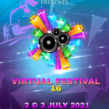 Virtual Festival 16: 2nd & 3rd July 2021