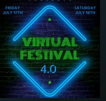 Virtual Festival 4: 17th & 18th July 2020