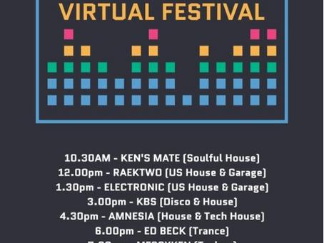 Virtual Festival 1: 24th May 2020