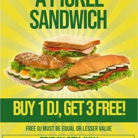 Pickle Sandwich: 10th July 2021