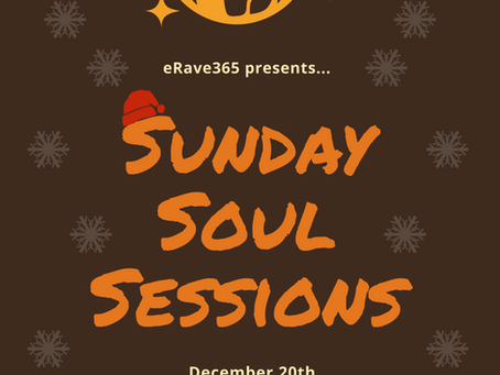 Sunday Soul Sessions: 20th December 2020