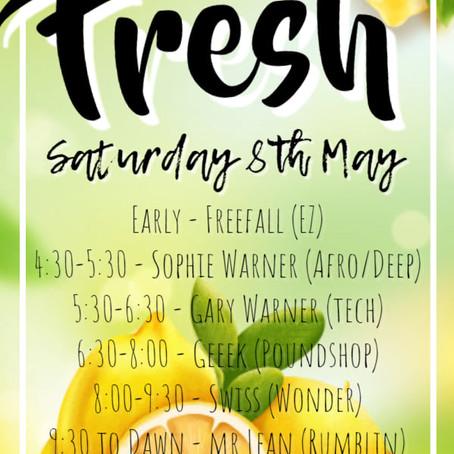 Fresh: 8th May 2021