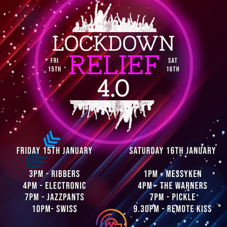 Lockdown Relief: 15th & 16th January 2021
