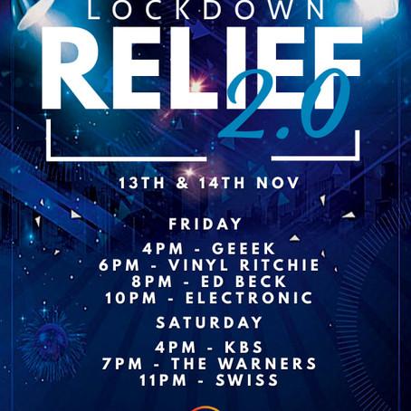 Lockdown relief: 13th & 14th November 2020