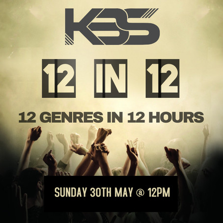 KBS' 12 in 12: 30th May 2021