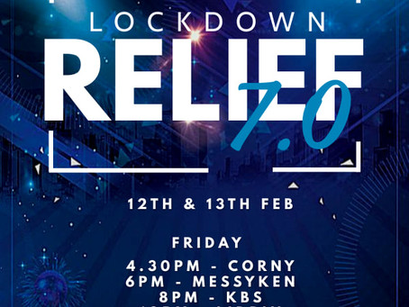 Lockdown Relief: 12th & 13th February 2021