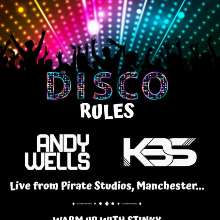 Disco Rules: 16th July 2021