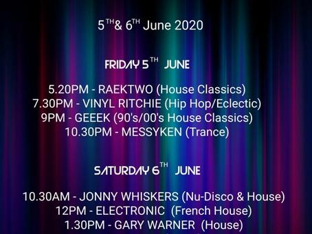 Virtual Festival 2: 5th & 6th June 2020