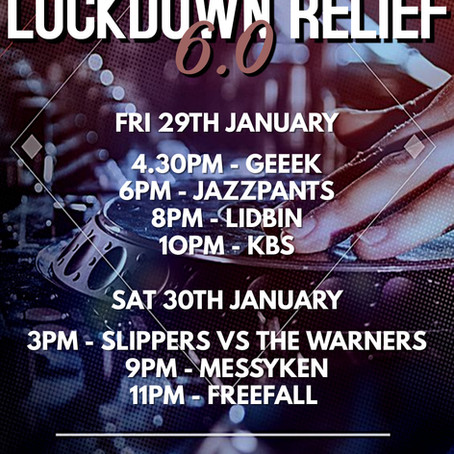 Lockdown Relief: 29th & 30th January 2021