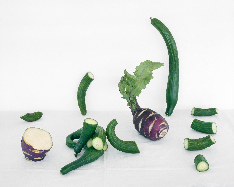 Cucumber & Kohlrabi