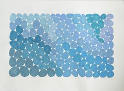 Sea Foam Blue Grays