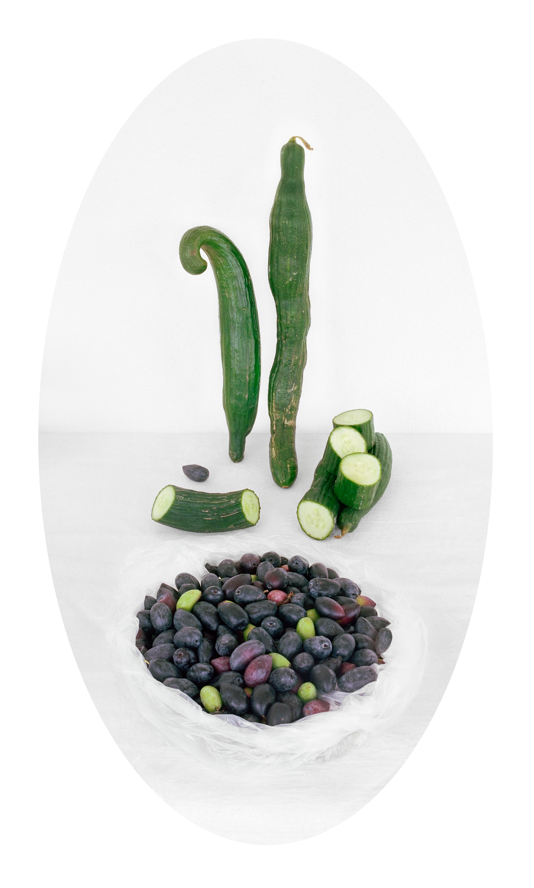 Cucumber & Black Olives