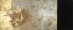 HAMAMI_redhead, no.4, (boardwalk ghost)_enamel,aerosol,acrylic,bitumen_30_x72_