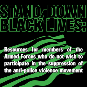 Stand Down 4 Black Lives