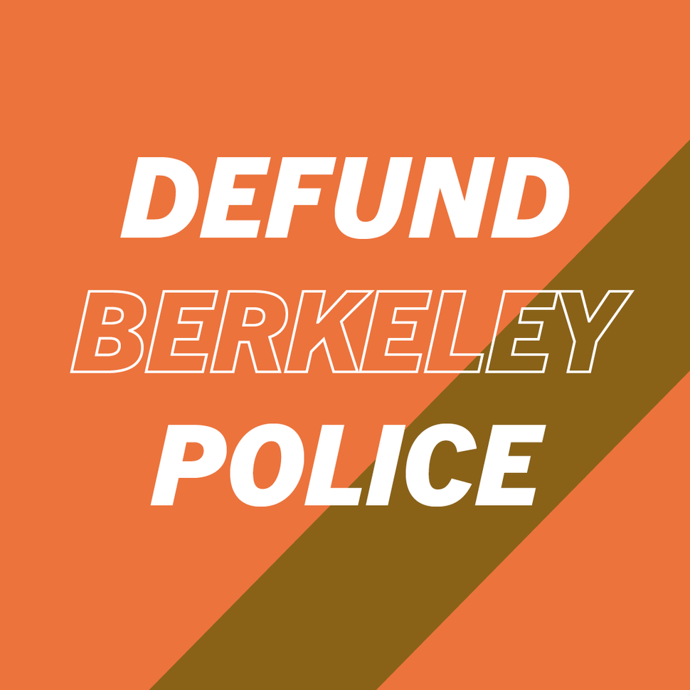 Defund Berkeley PD Infographic