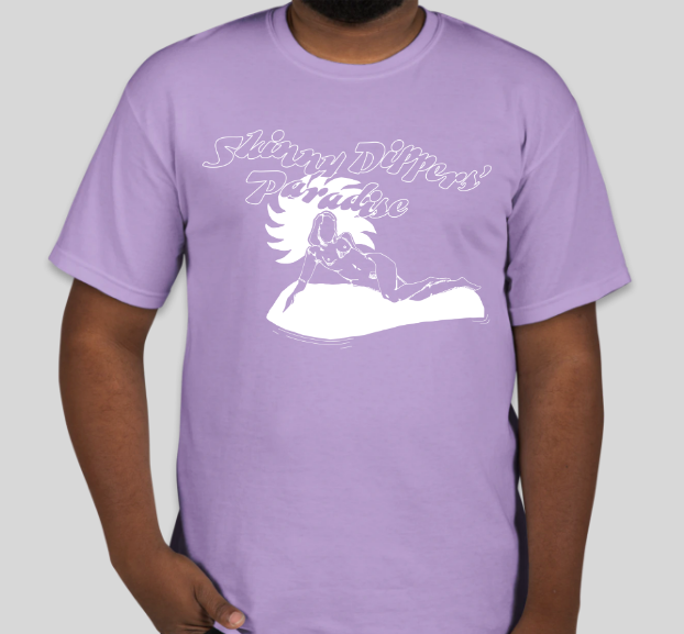 Skinny Dippers' Paradise Tee - front