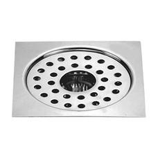 "Floor Drain (Sani Sq. Gypsy Plain Jali) Model : DL-FD22              DL-FD25              DL-FD60 Size : (5"") (6"")"