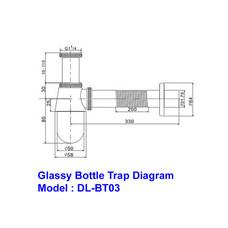 Brass Bottle (Glassy Type)