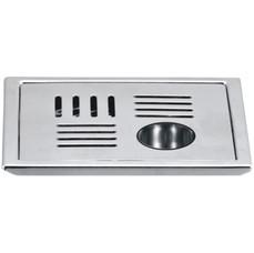 """Floor Drain (Sq. Drain  Gypsy {LINE}) Model : DL-FD1056              DL-FD1076 Size : (5"""") (6"""")"""
