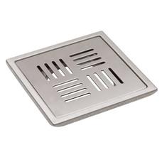"Floor Drain (Sq. Drain {LINE}) Model : DL-FD1055              DL-FD1075 Size : (5"") (6"")"