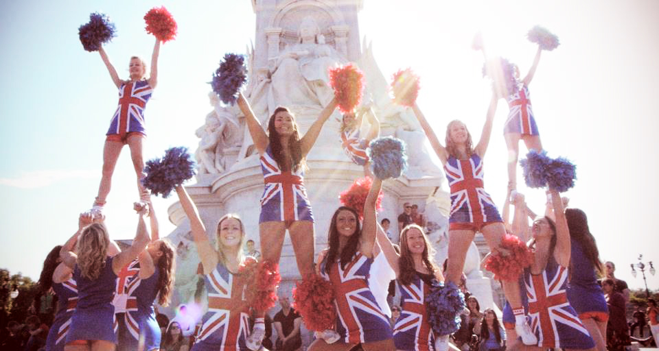 Cheer Team GB shoot