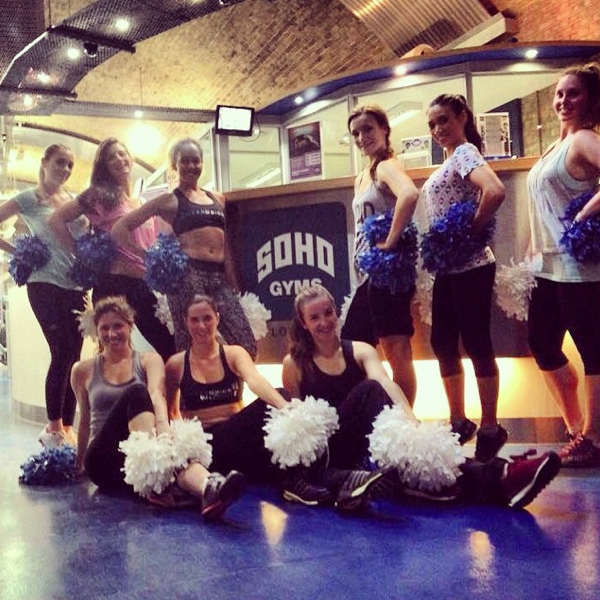 Cheerobics Classes in Soho Gyms