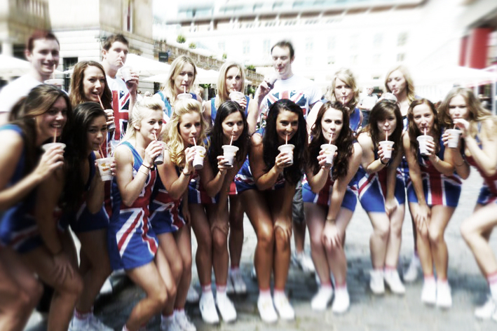 Cheer Team GB shoot
