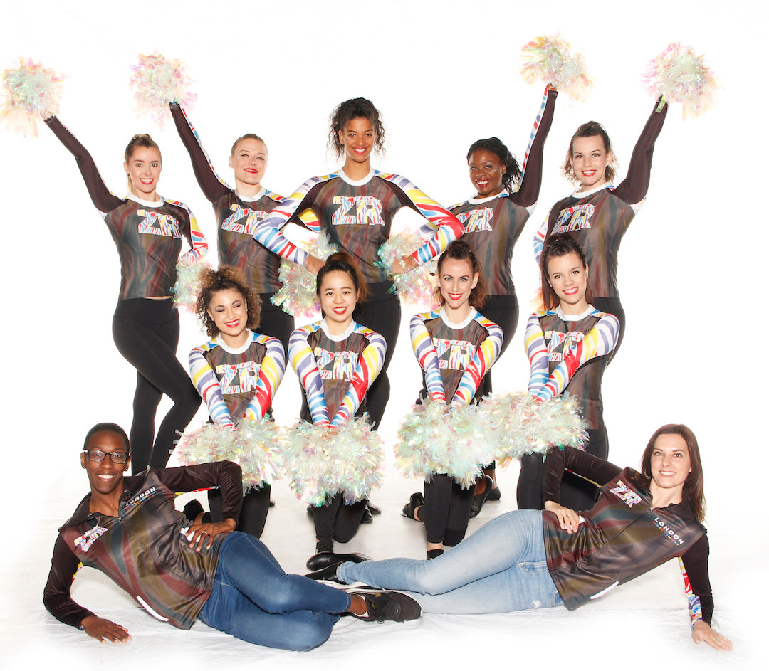 ZR London Cheerleaders