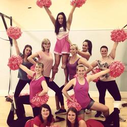 Cheerleading Hen Party