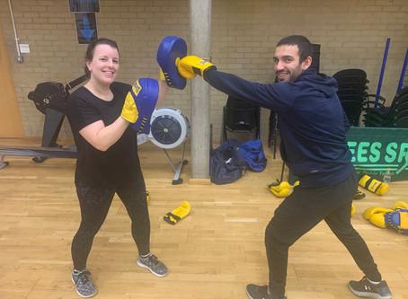 Boxercise training