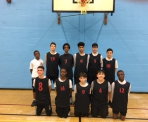 Year 9 Boys basketball game Vs. Southgate School