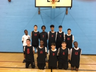 Year 9 Boys basketball game Vs. Southgate School