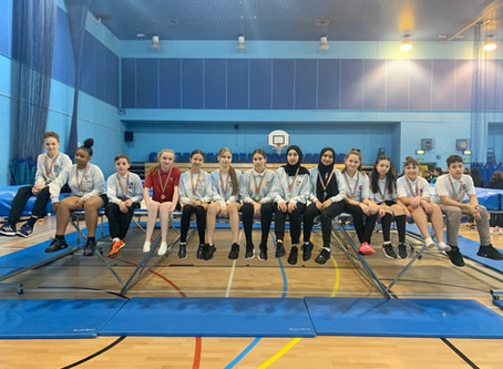 Enfield Trampolining Competition