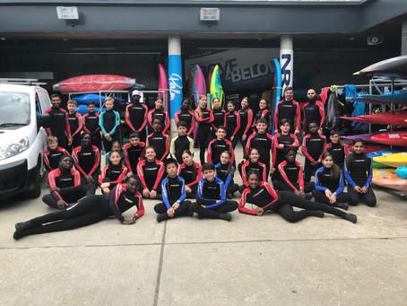 KS3 White Water rafting reward trip
