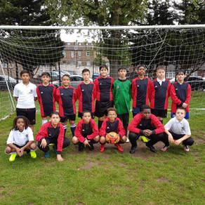 Year 8 Boys Football team vs Chace