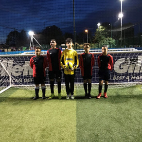 Year 8 Boys show great courage in 5 a-side