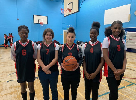 Senior basketball girls success