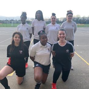 Senior girls netball vs Latymer