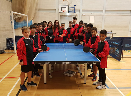 All years Tabletennis competition @ London Academy