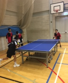 Boys Individual Table tennis tournament @ London Academy