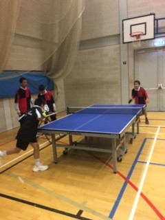 Boys Individual Table tennis tournament @ London Academy